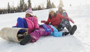 Outdoor Wild Winter Activities
