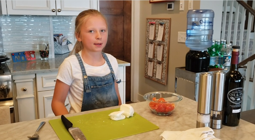 Cooking with Charlee: Caprese