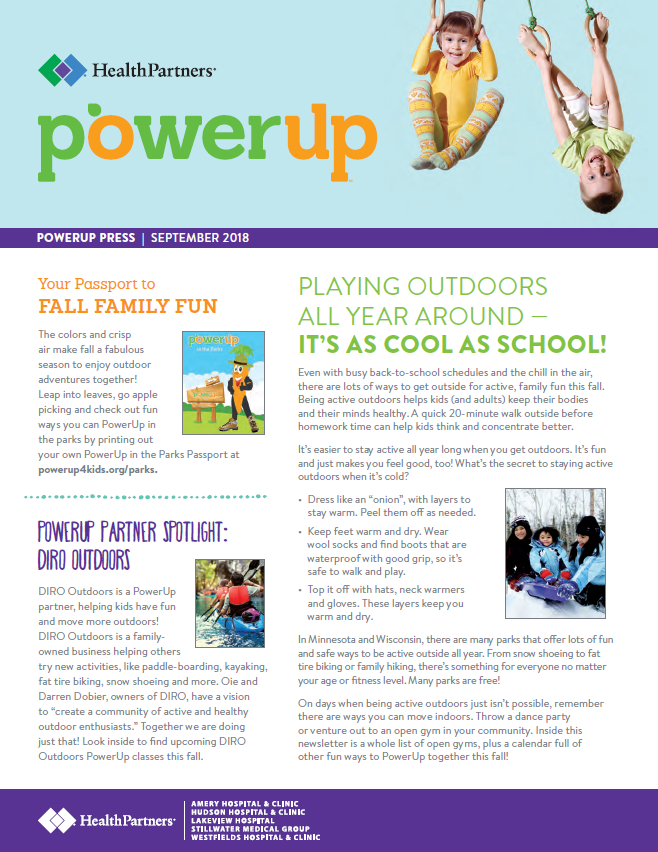 View or Subscribe to PowerUp Press